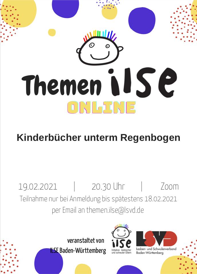 Online-Gespräch über Kinderbücher für Regenbogenfamilien