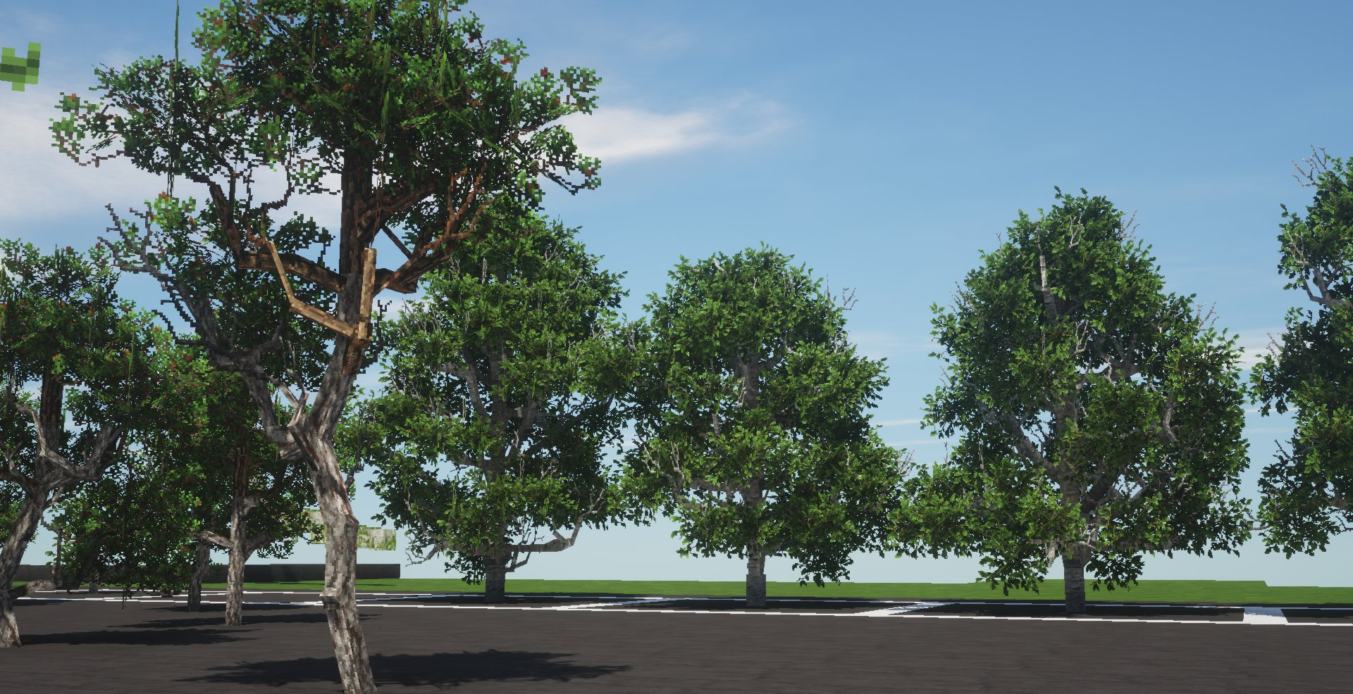Custom tree showcase.