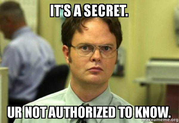 Image result for secret meme