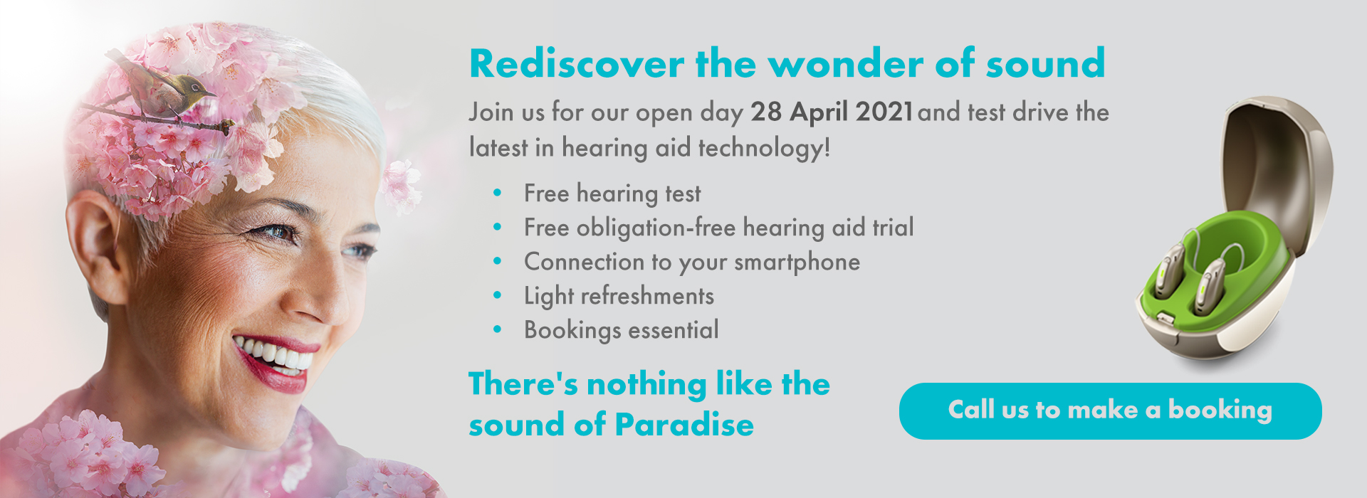 Perth Hearing & Tinnitus Clinic Open Day 28 April 2021
