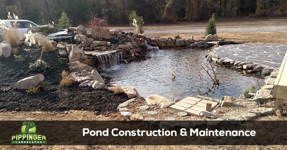 Pond Installation Services