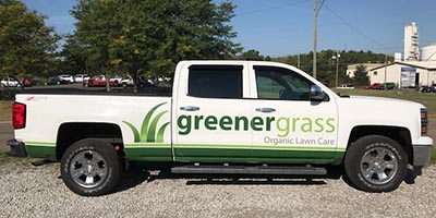 Greener Grass Lawn Care Truck