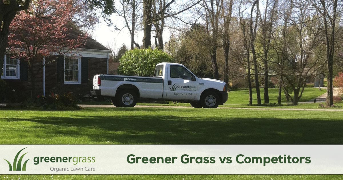 Greener Grass vs. The Competition