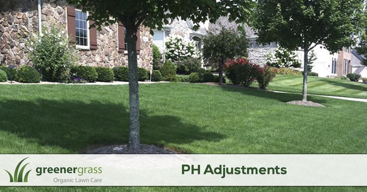 Lawn PH adjustments