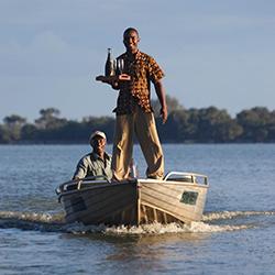 Boating safari Siwandu