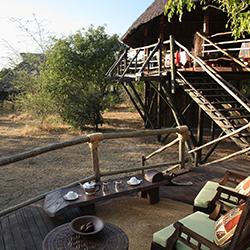 Siwandu communal area view