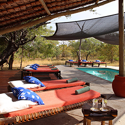 Swimming pool at North Camp Siwandu