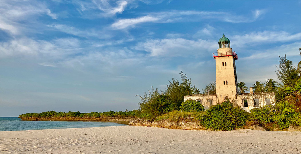 Fanjove Island Old German Lighthouse