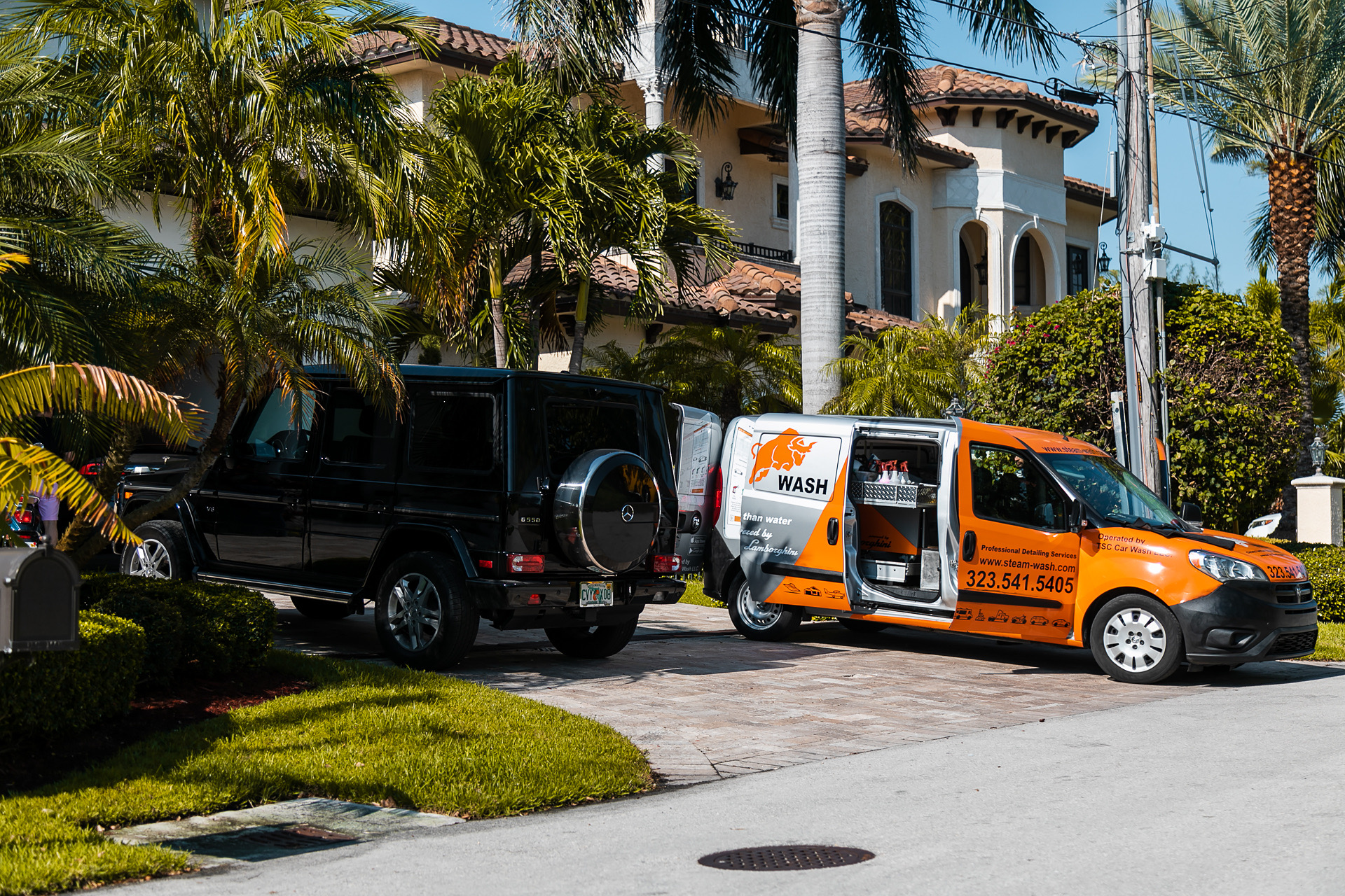Video demo of mobile detailing in MIami