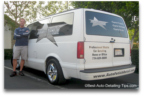 mobile detailing business van