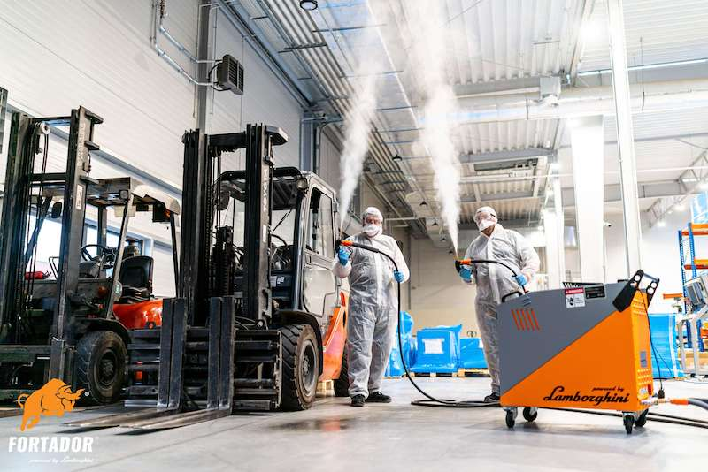 commercial steam cleaners for disinfection
