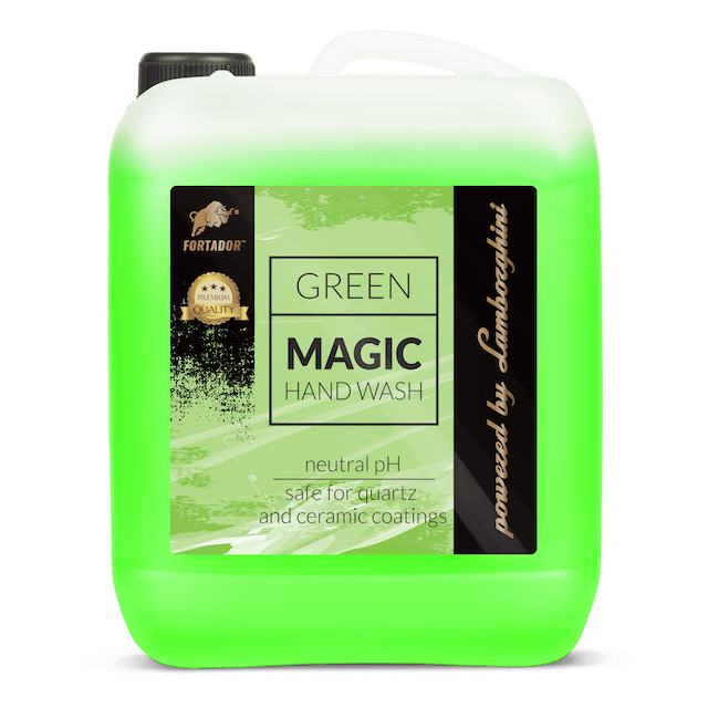 Fortador Green Magic Waterless Hand Wash and Wax