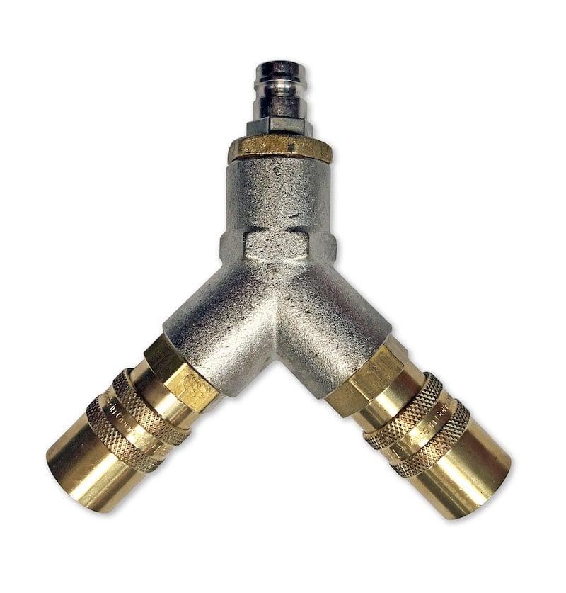 Splitter for Steam Hose connection