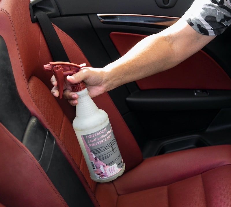 Protecton and Conditioning of leather seats