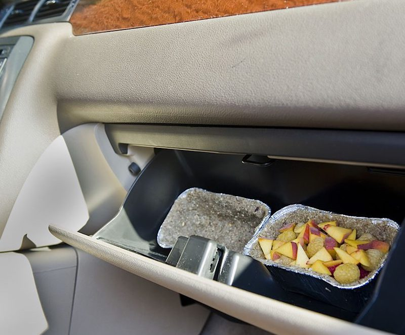 leaving food in glove box is a reason to get roaches