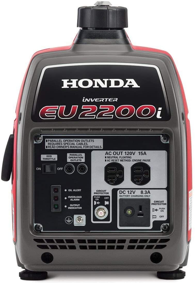 Generator for mobile car wash Honda EU2200i