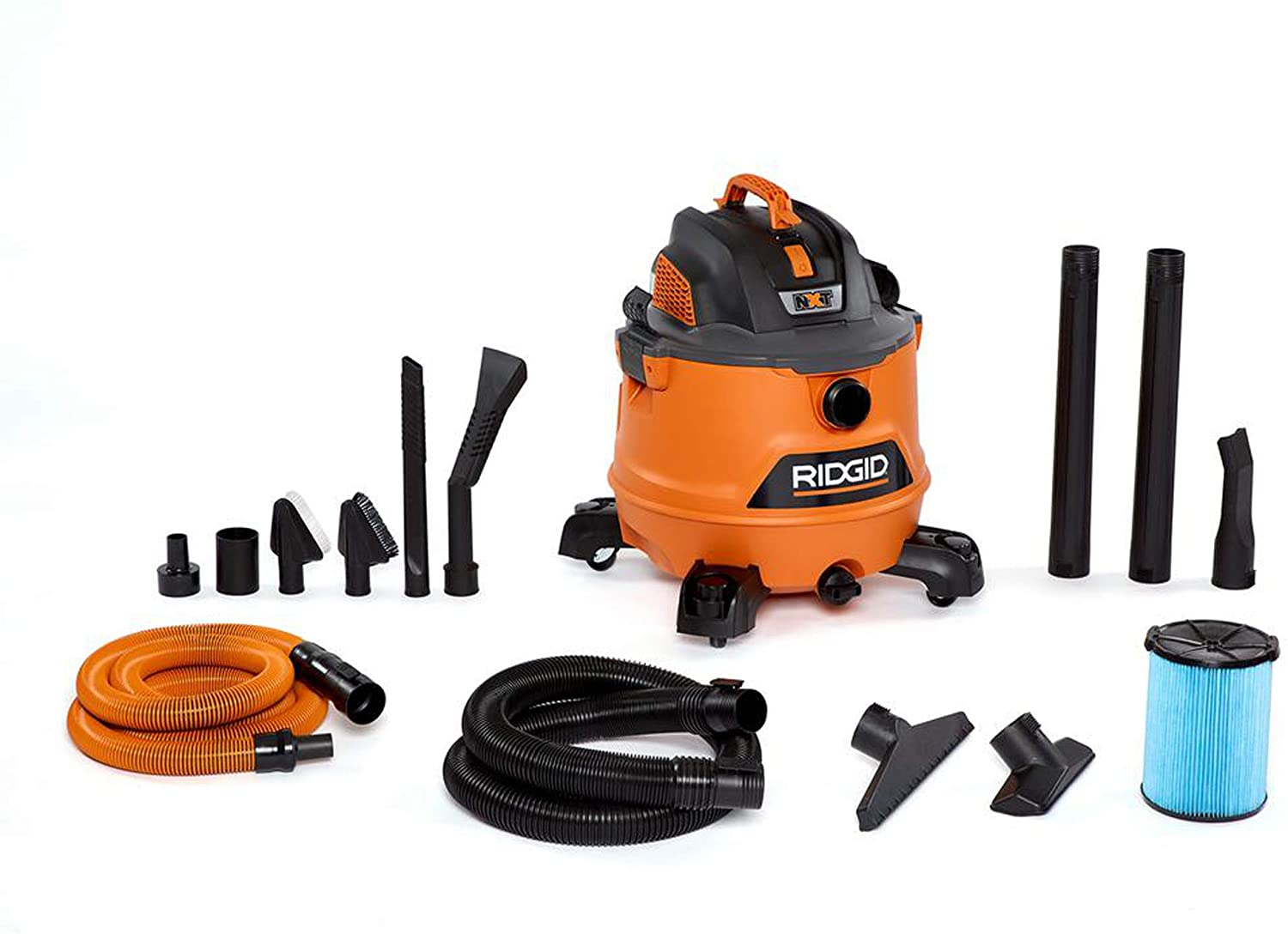 Commercial Wet/Dry vacuum cleaner for car wash and auto detailing RIDGID 14-Gal. 6.0 Peak HP