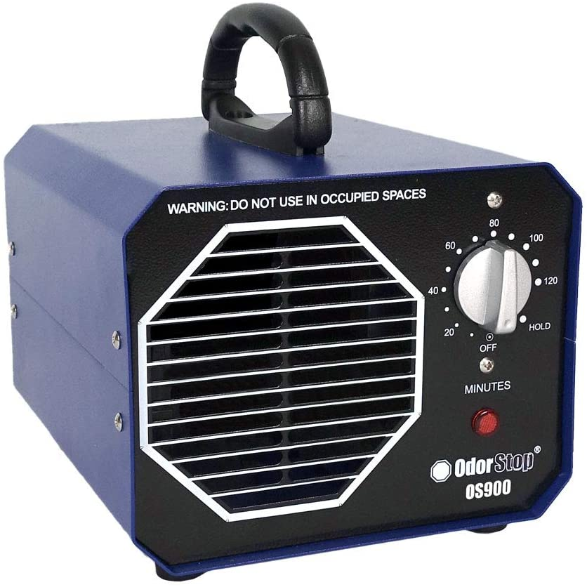 Professional Ozone Generator Ionizer for Cars, RV's, and Boats OdorStop OS900/6G
