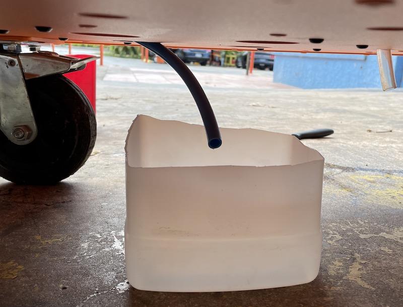 diesel drain pipe