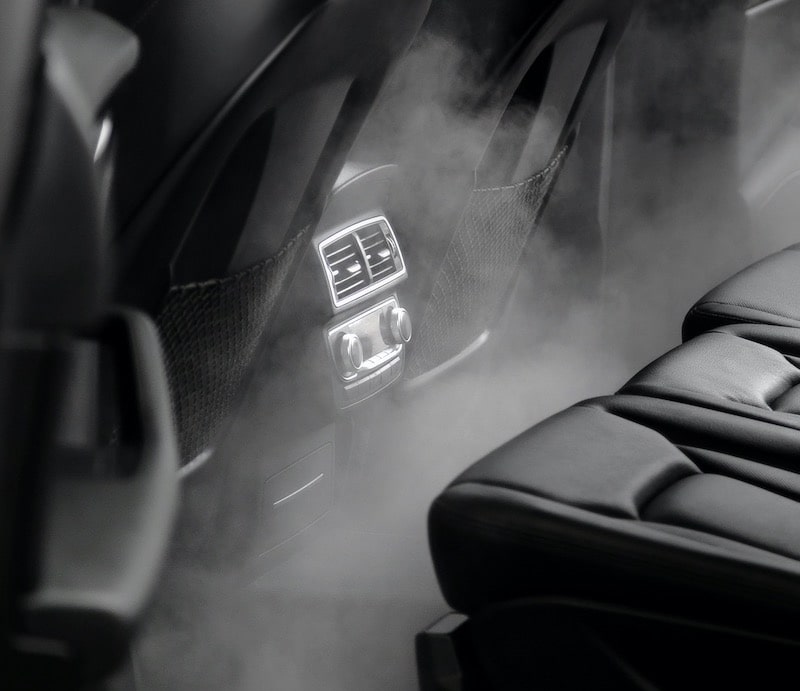 steam detailing is the best method for keeping your car odor free