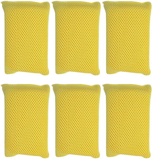 Microfiber Bug Scrubber Sponge Large, 6-Pack