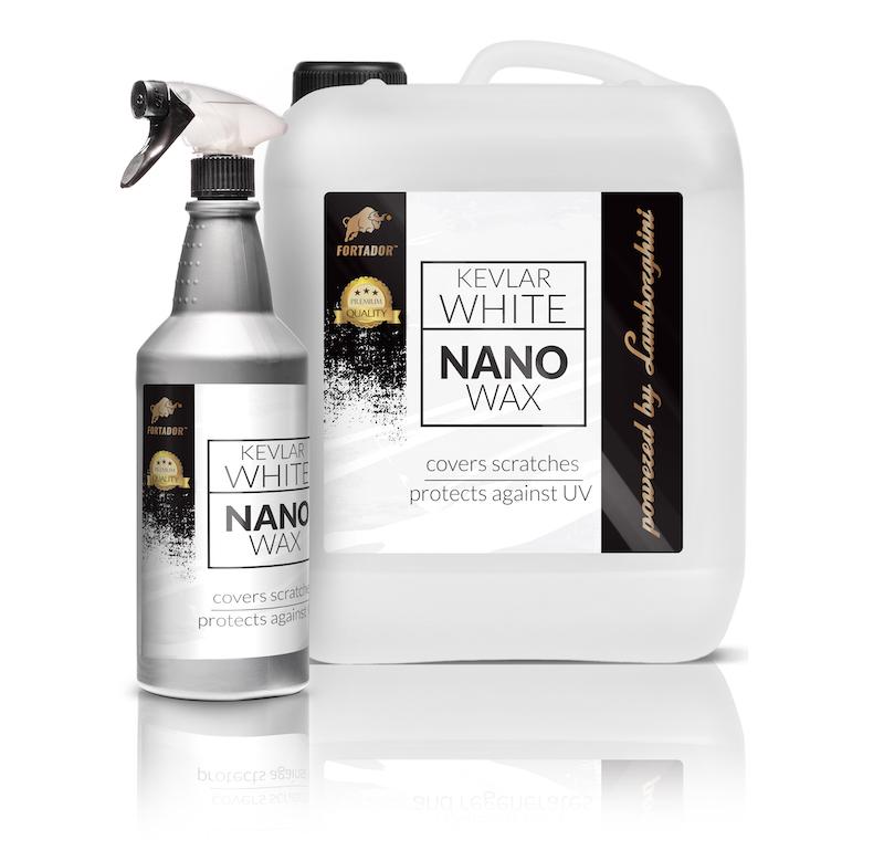 Nano wax fpr car paint protection
