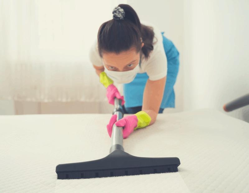 vacuum mattress regularly