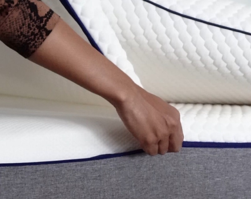 remove mattress cover before cleaning