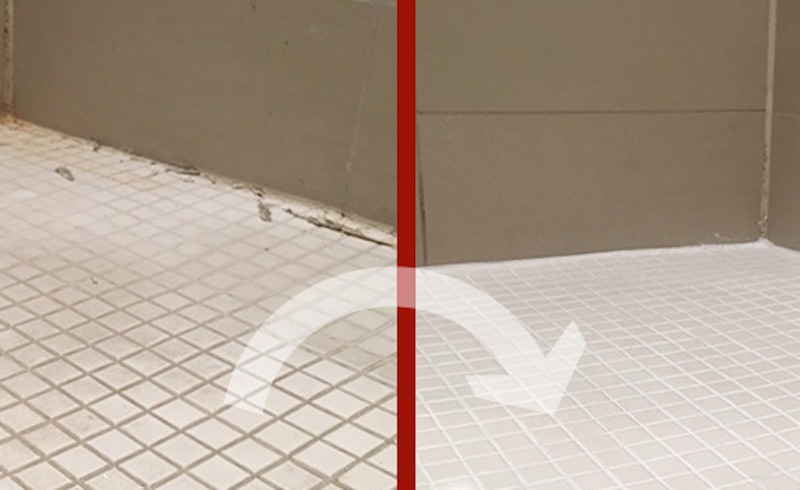 bathrom tiles cleaning and rout brighening