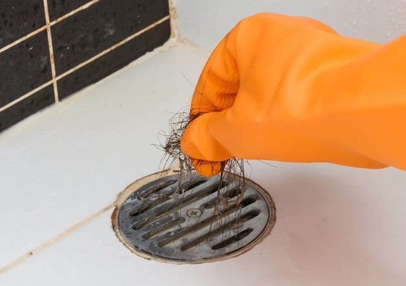 bathroom drainage cleaning