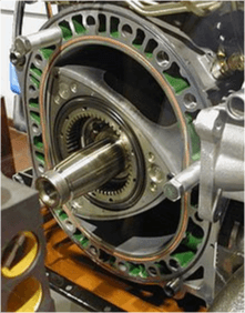 Picture of coated rotor engine