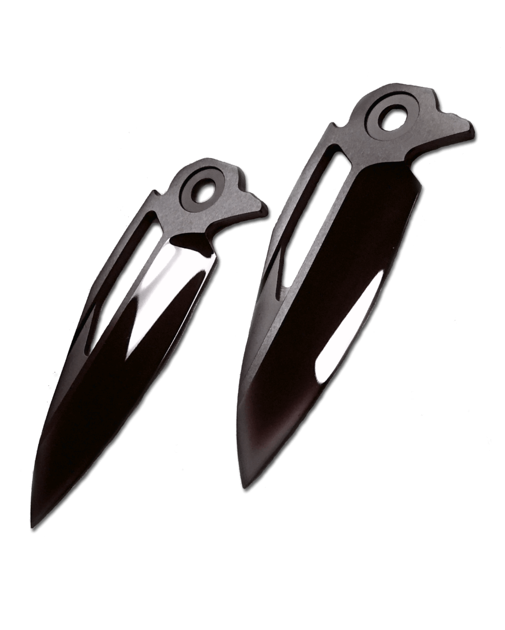 Photo of the coated knife blades