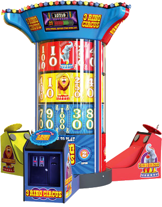 Commercial Game Cabinets by Great American Recreation Equipment