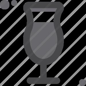 Coctail Hurricane Glass