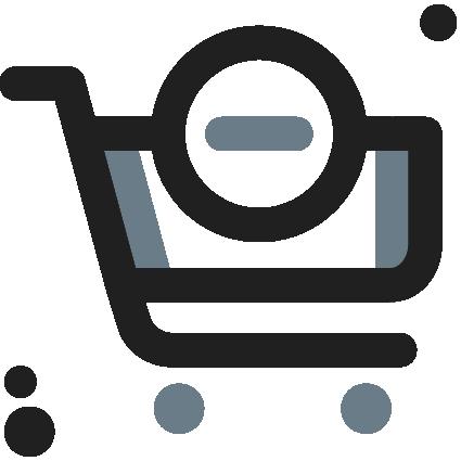 Cart decrease