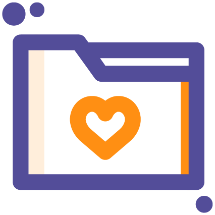 Folder Heart