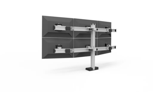 Durable Monitor Mounts for Public Safety