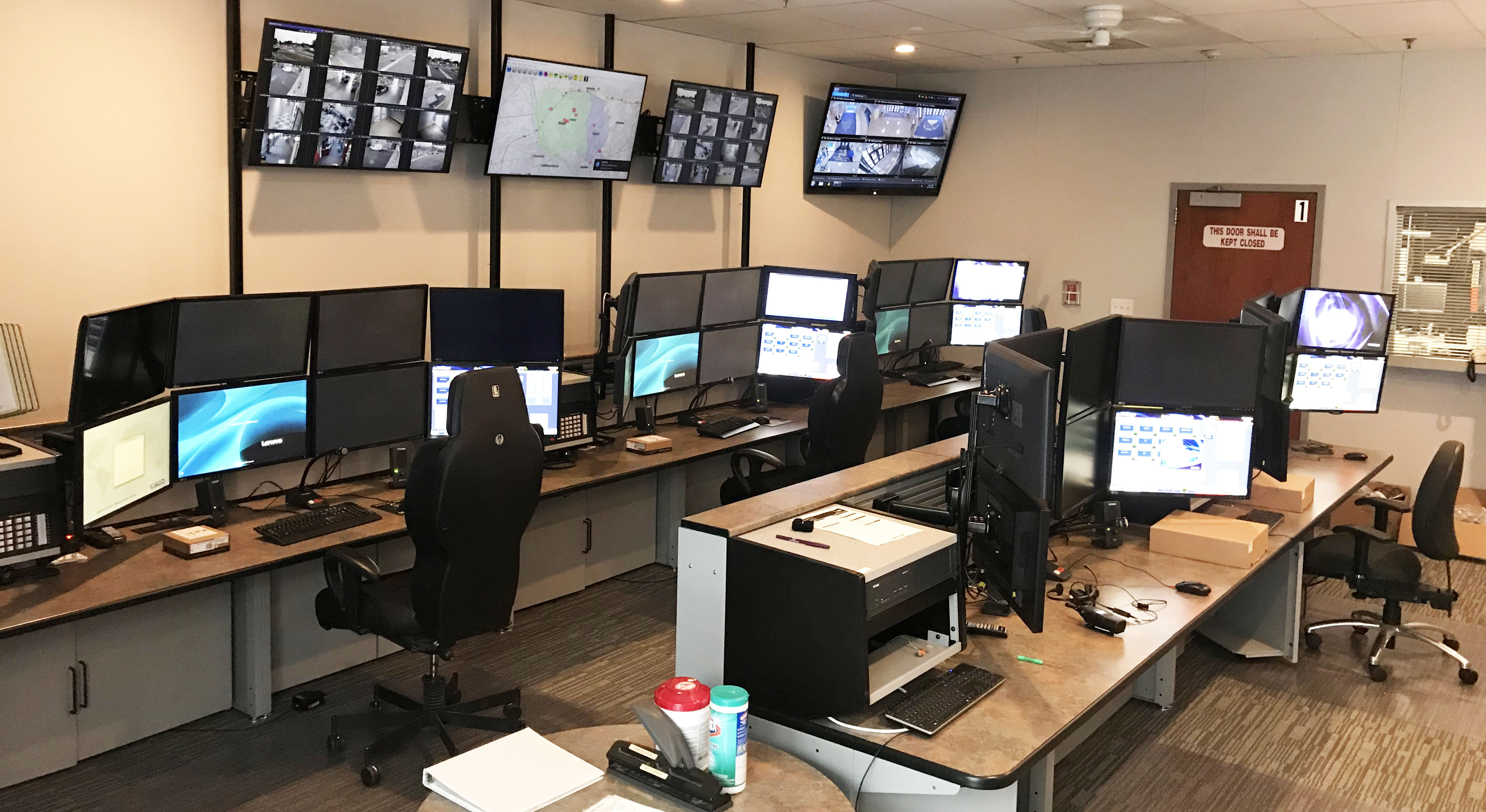 Public Safety Dispatch Consoles