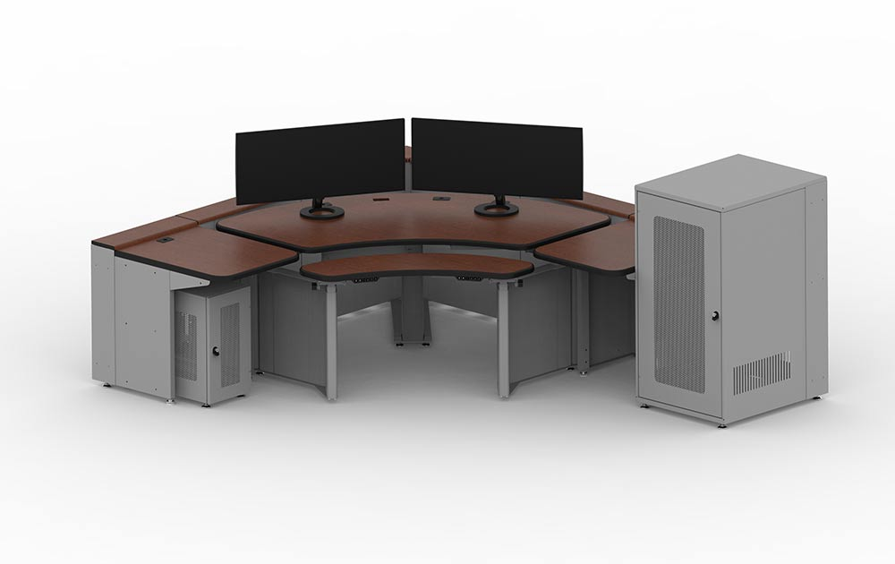 Contour Series Mission Critical Workstation for Command Centers from e-Systems Group
