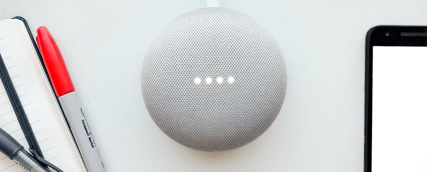 Photo of Google Home mini
