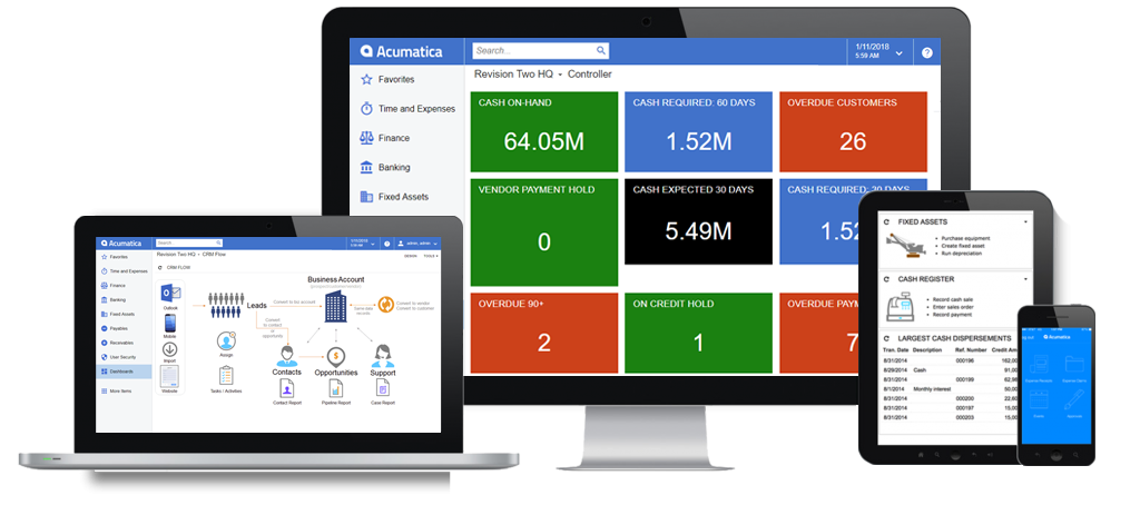 Acumatica Financial Management Software