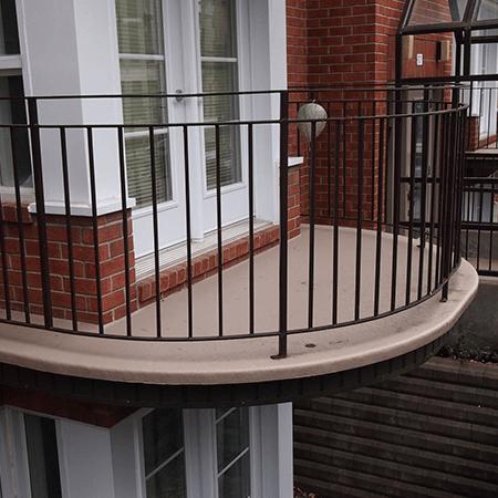 balcons et marches