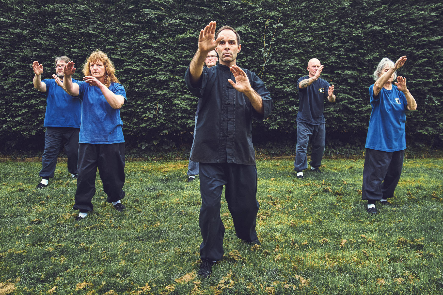 Tai Chi Outdoors