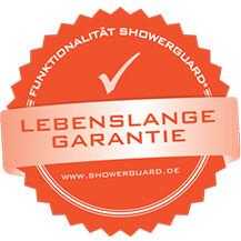 showerguard garantie