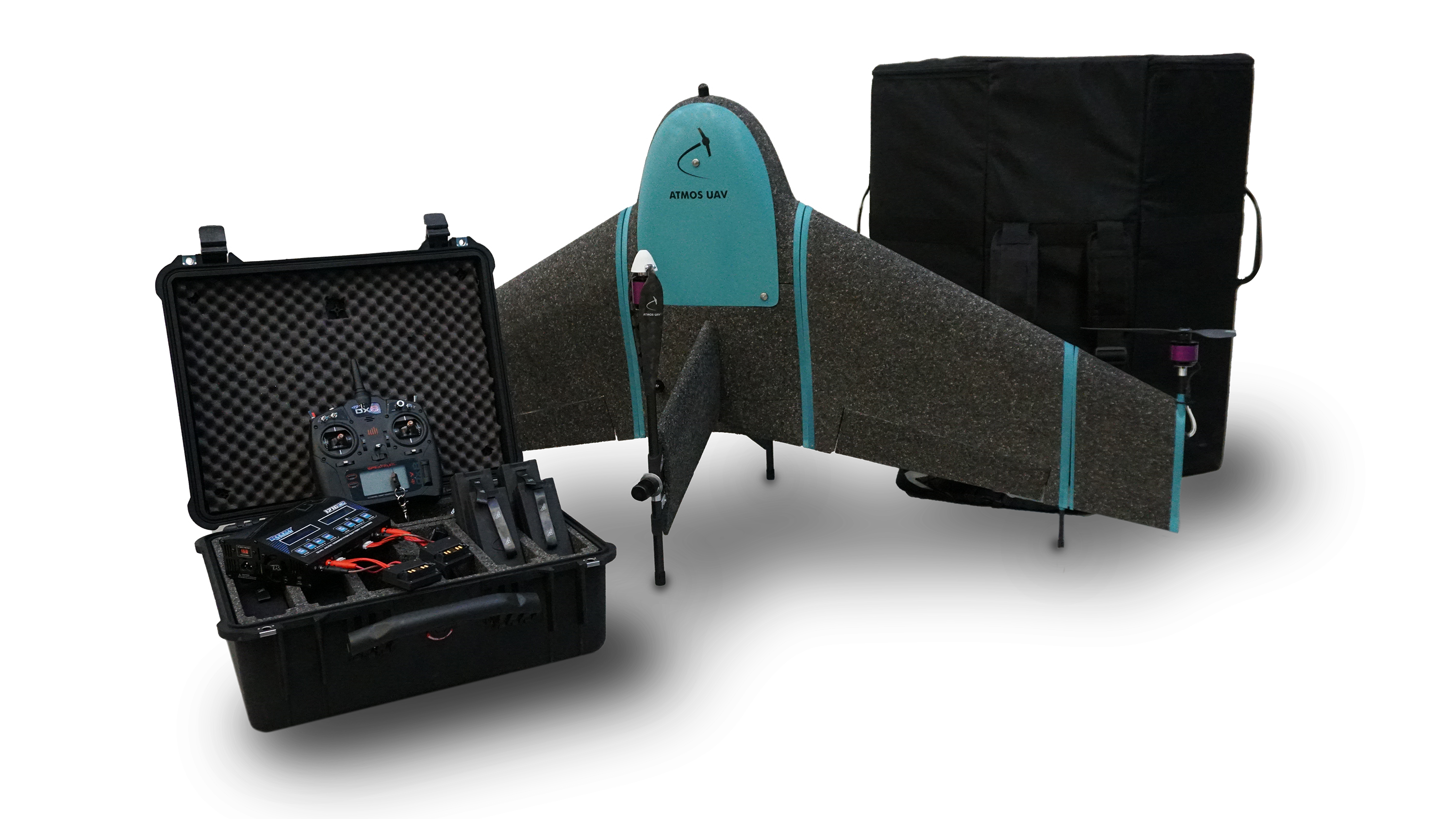 ATMOS UAV | Fixed Wing VTOL Drones for Mapping & Surveying