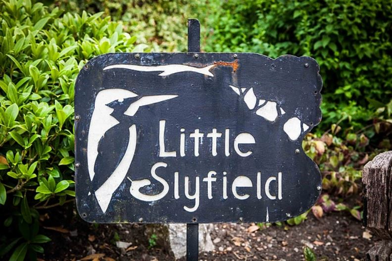 Little Slyfield, Aidan Woodcock's lovely home