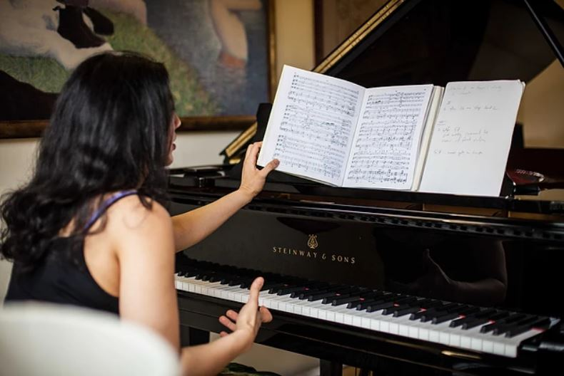 Piano rehearsals