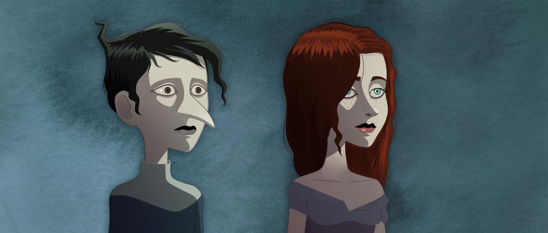 «Le Vigneron et La Mort» est un conte valaisan issu de la tradition orale, revisité par Victor Jaquier sous la forme d'un court-métrage en dessin animé.