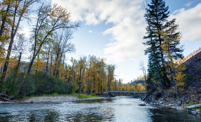 Rock Creek at the Rock Creek Confluence Property. Photo by Little Bear Photography.