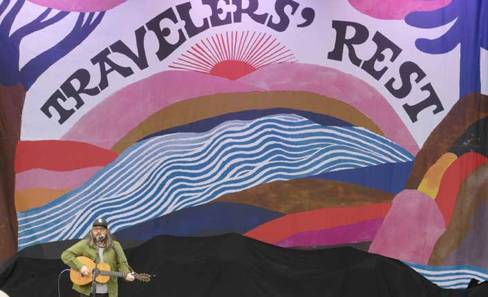 Jeff Tweedy at the 2018 Travelers' Rest Festival. Photo by Geoff Sutton.